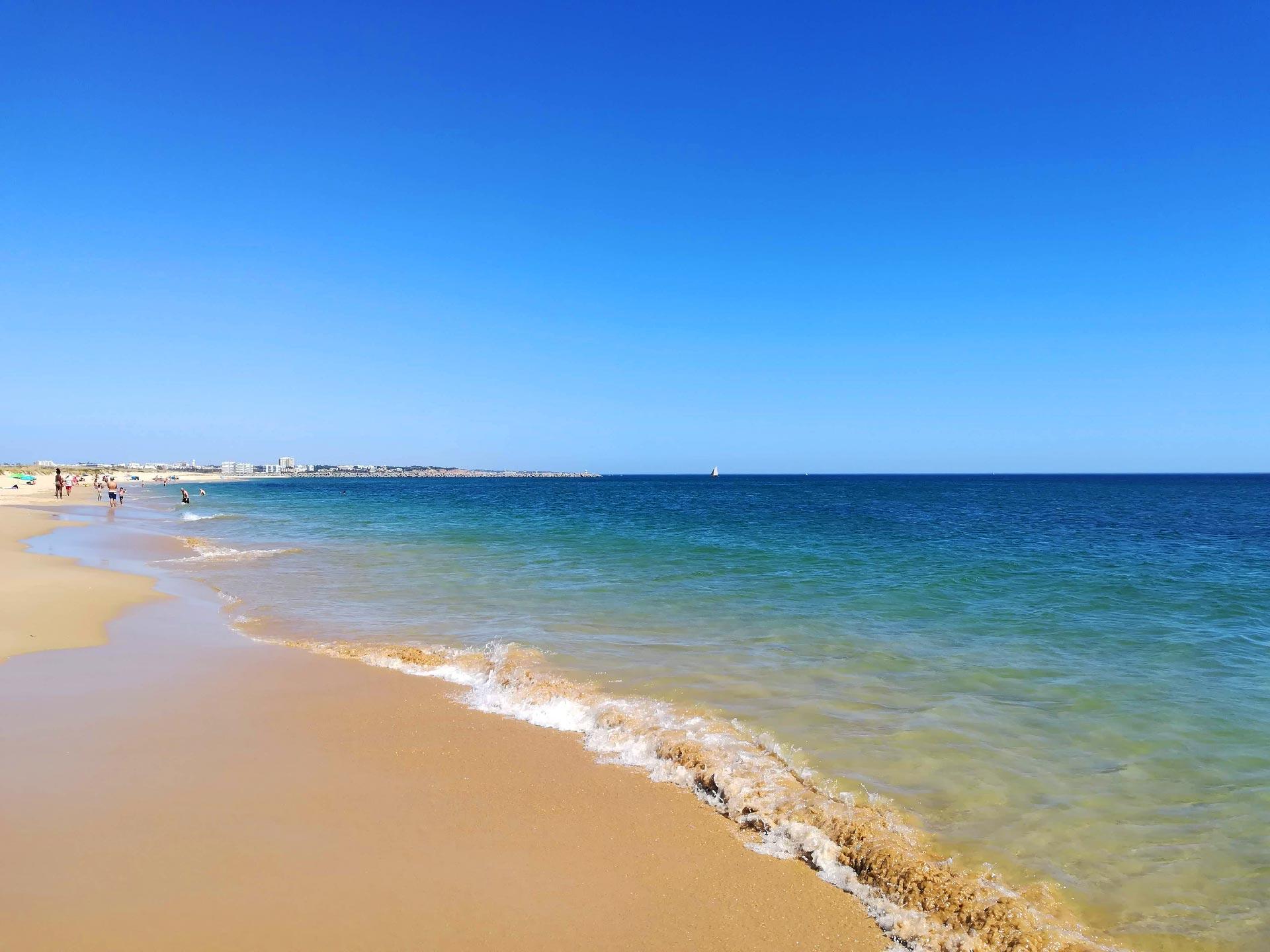 Scorcio di Praia do Vale da Lama (spiaggia) Portimao, Portogallo