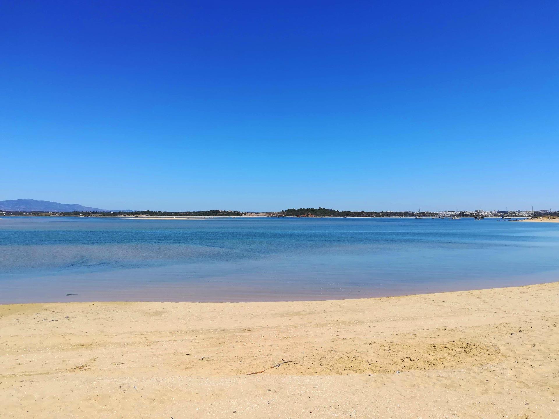 Particolare di Praia do Vale da Lama (spiaggia), Portimao, Portogallo
