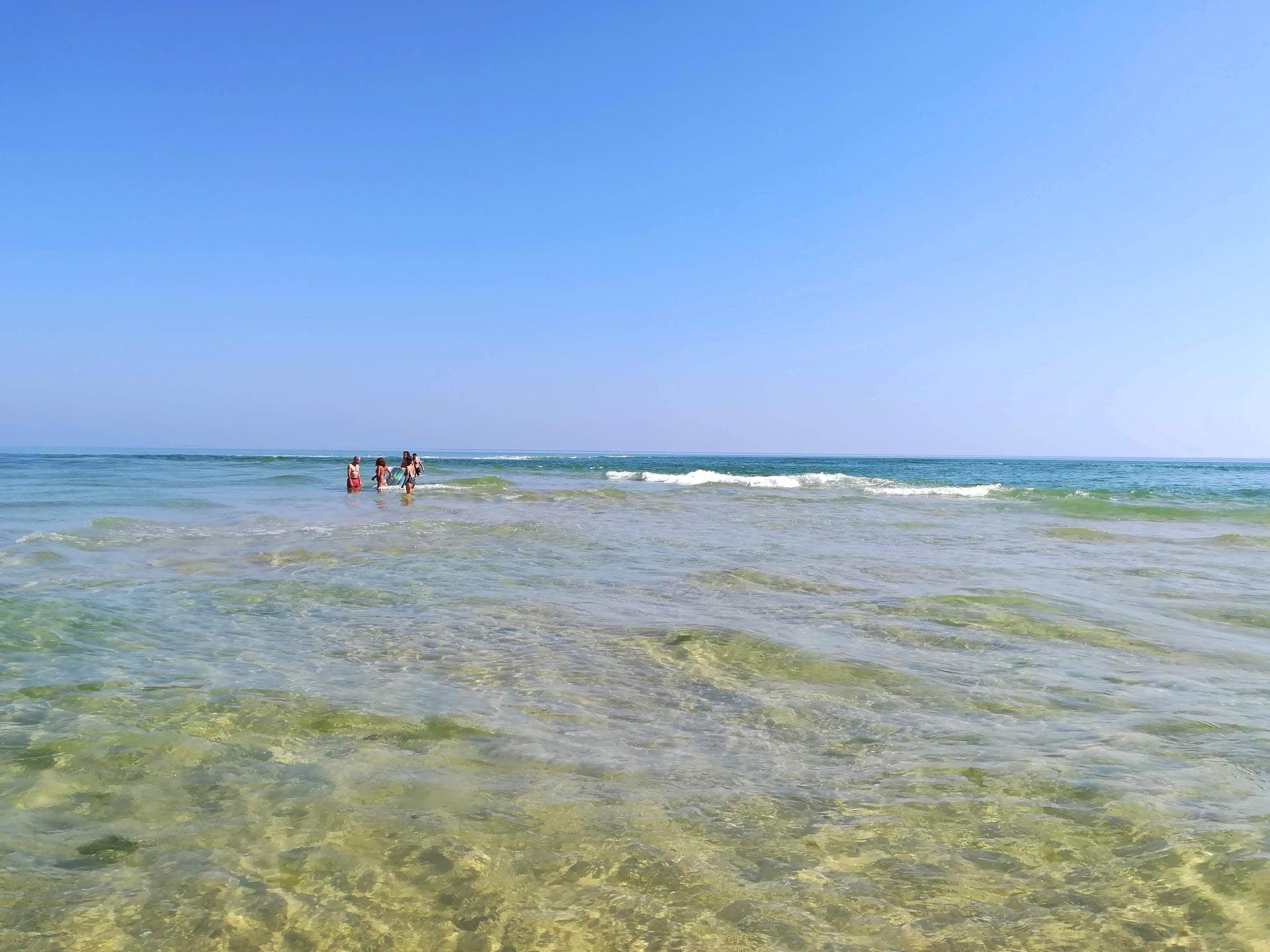 Il mare cristallino di Ilha da Armona, Faro, Algarve, Portogallo