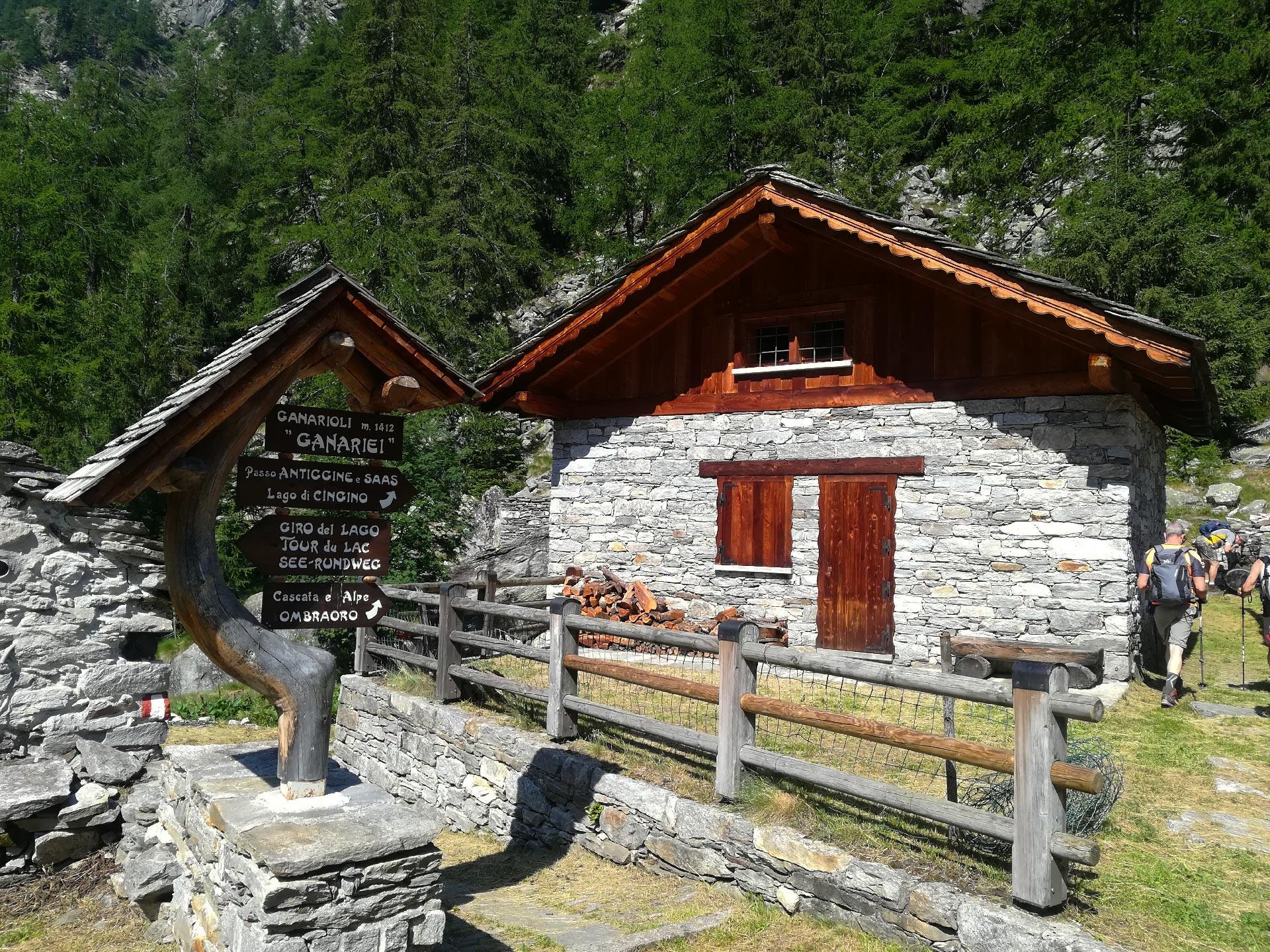 baite della Valle Antrona, Piemonte