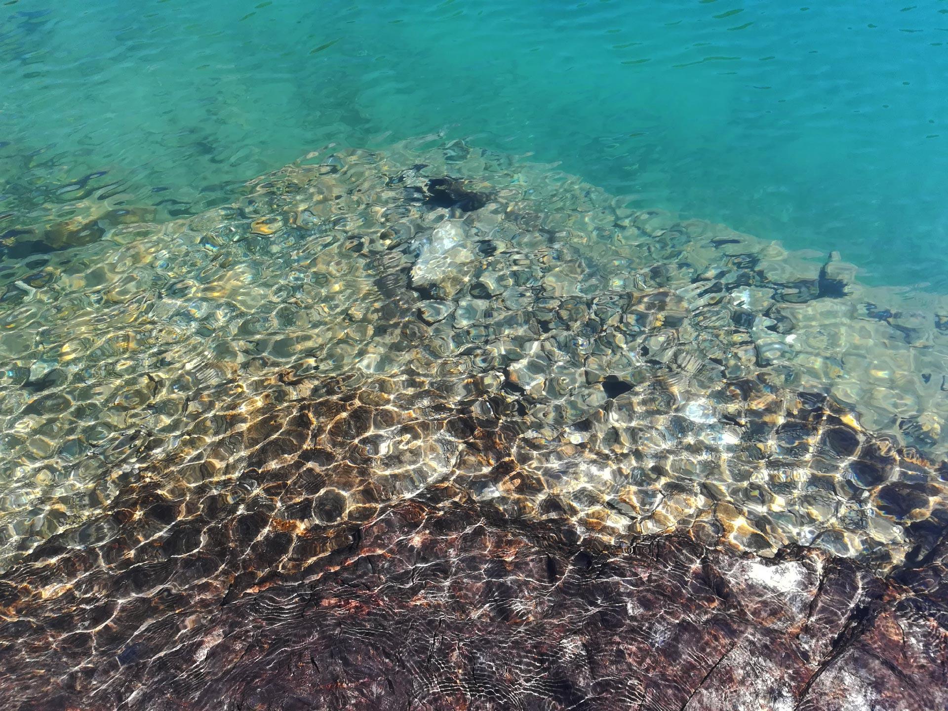 Scorcio sul lago di Bellecombe
