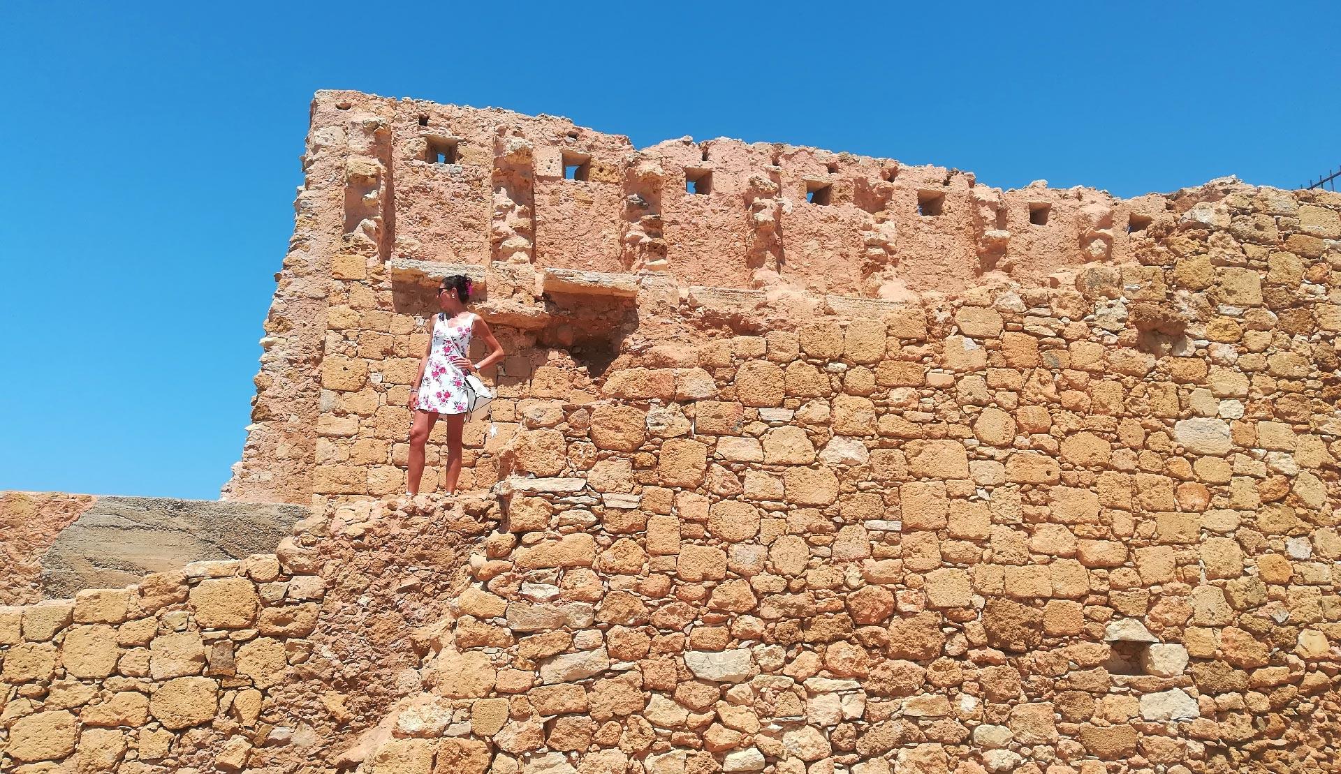 le mura di Chania, Creta, Grecia