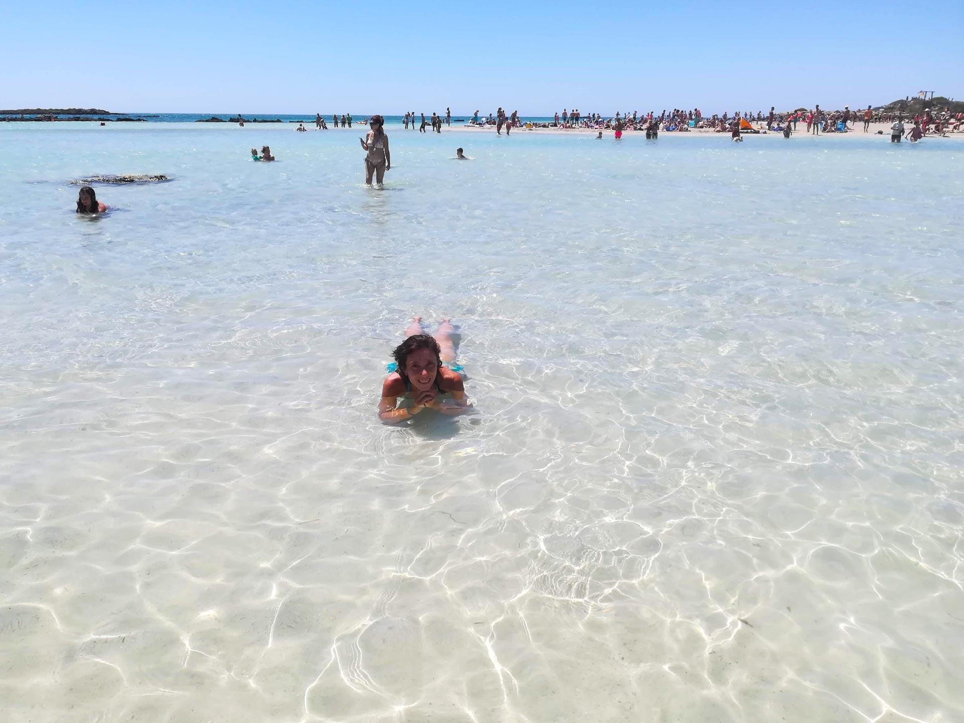 il mare di Elafonissi, Creta, Grecia