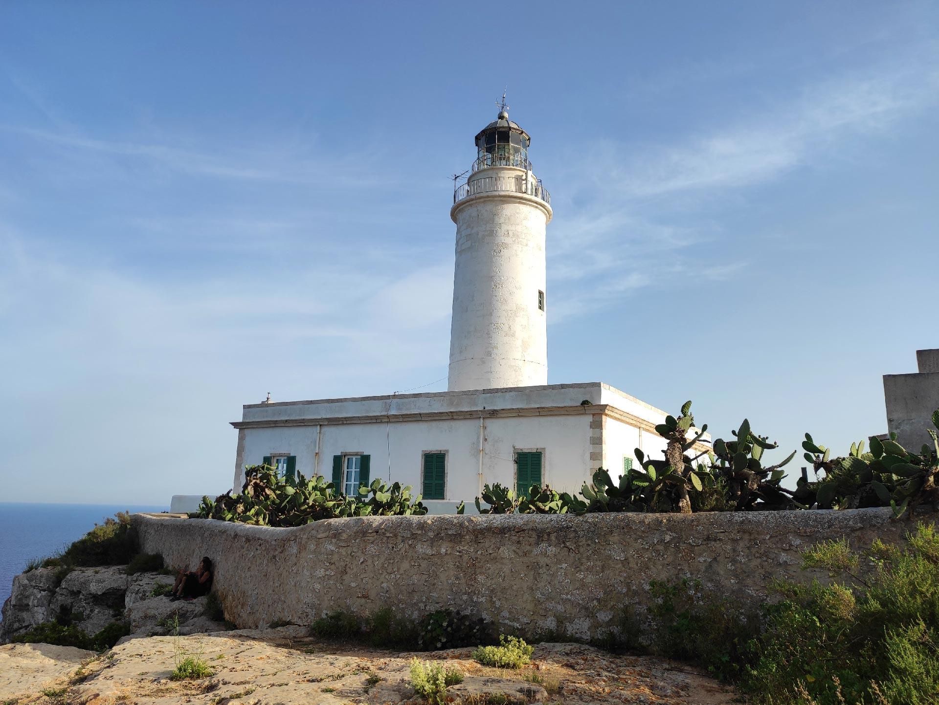 Il faro di El Pilar de la Mola
