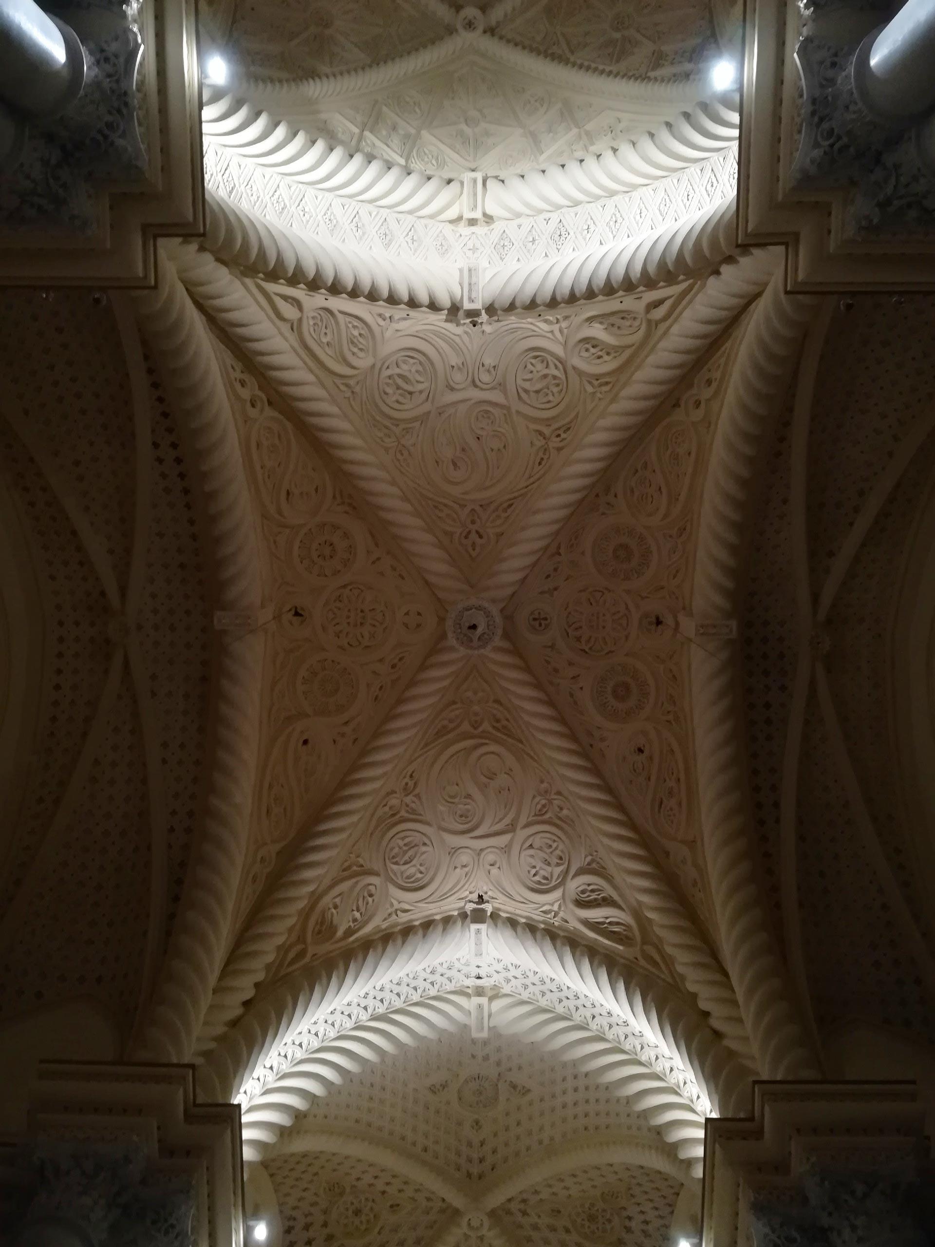 Particolare del soffitto del Duomo di Erice