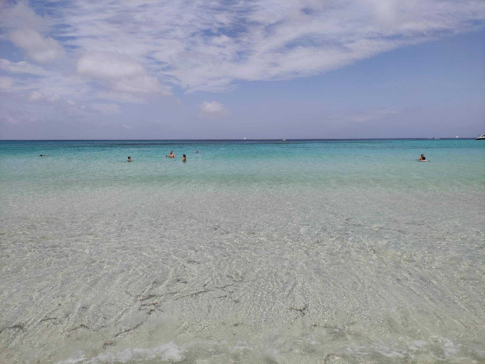 Il mare di Platja d'Es Arenals