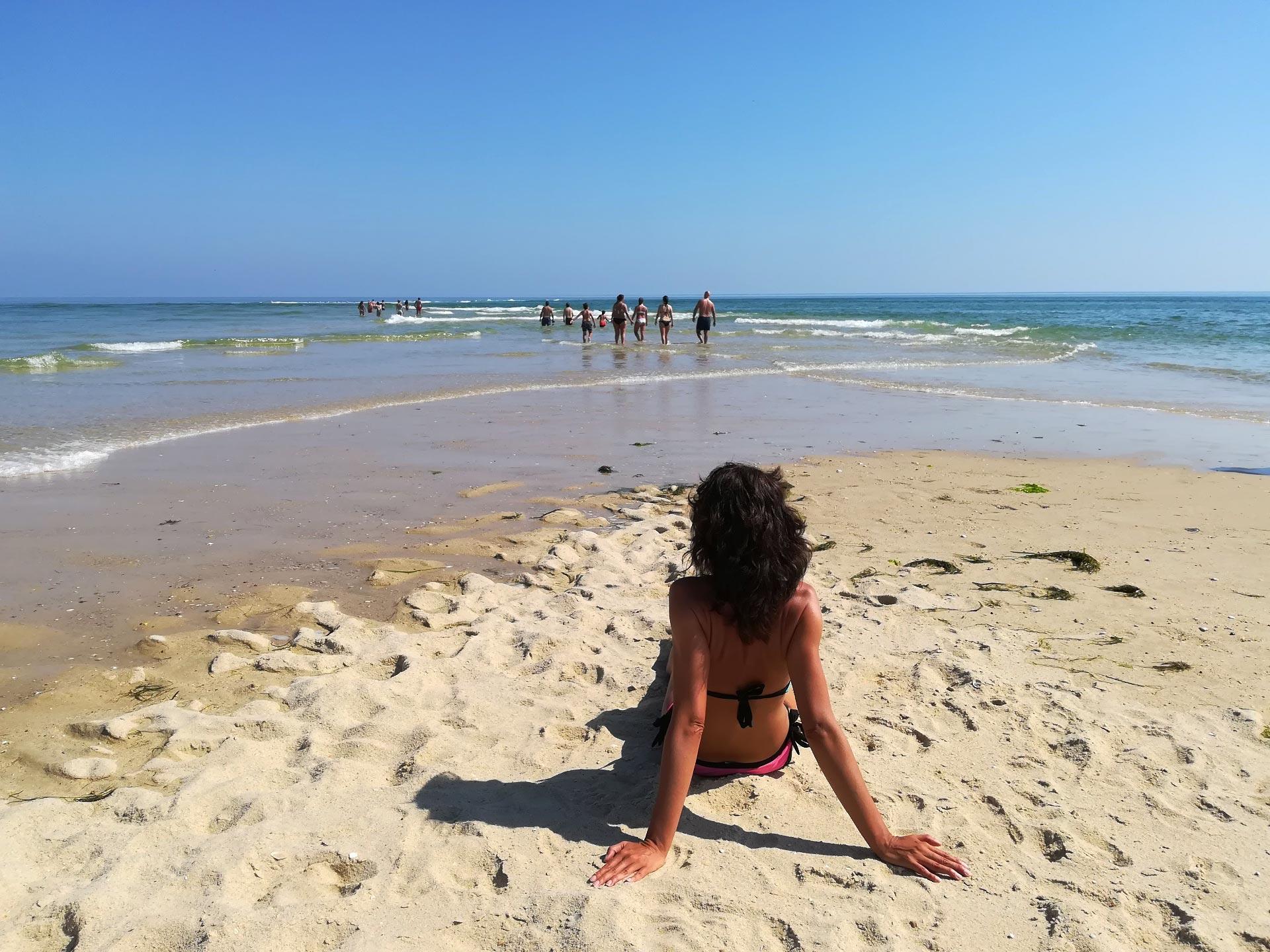 Veduta della spiaggia Ilha da Armona