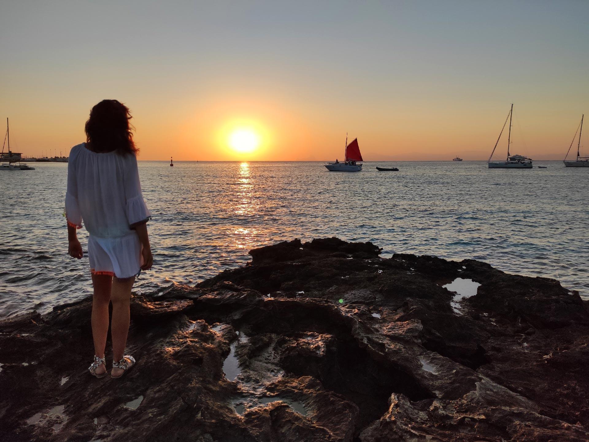 Il tramonto del Sa Sequi