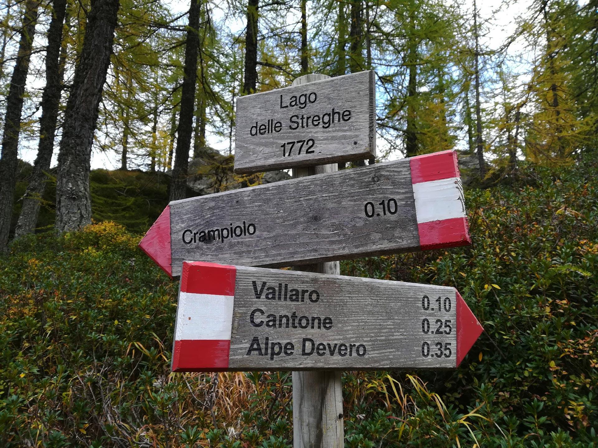 lago delle Streghe, indicazioni, Verbania, Piemonte