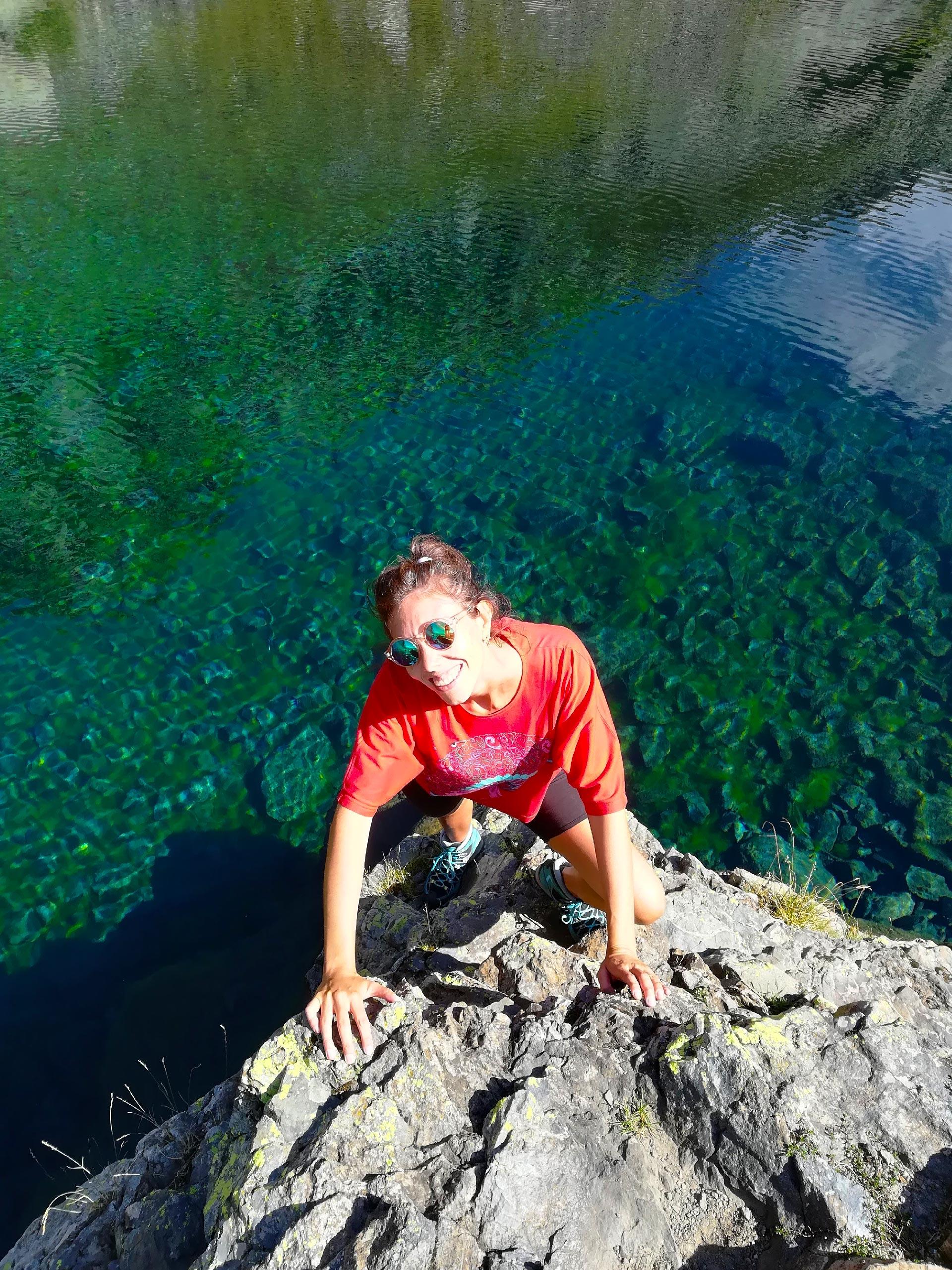 Sulle sponde del lago Zancone