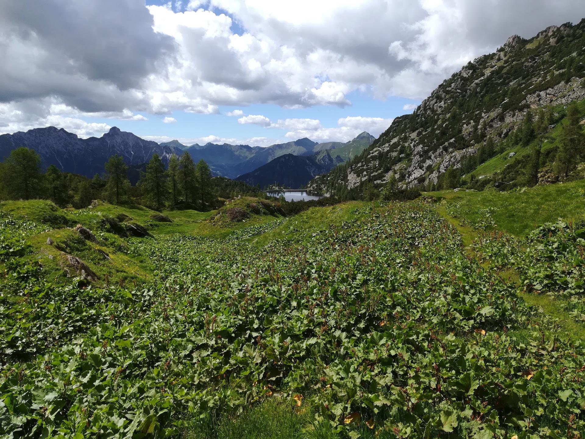 il lago Becco in lontananza, Val Brembana, Lombardia