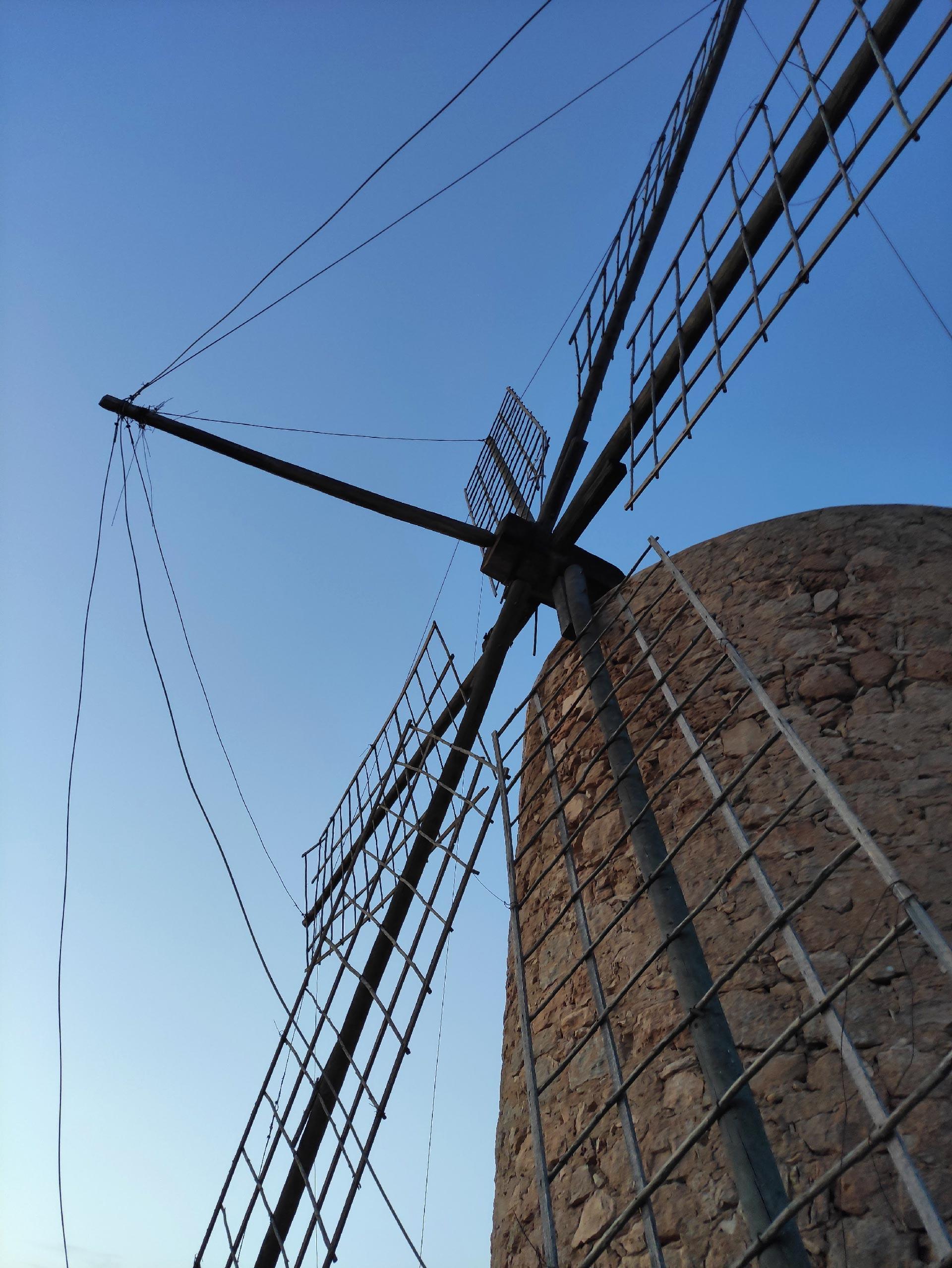 Le pale del mulino a vento di San Francesc, Formentera