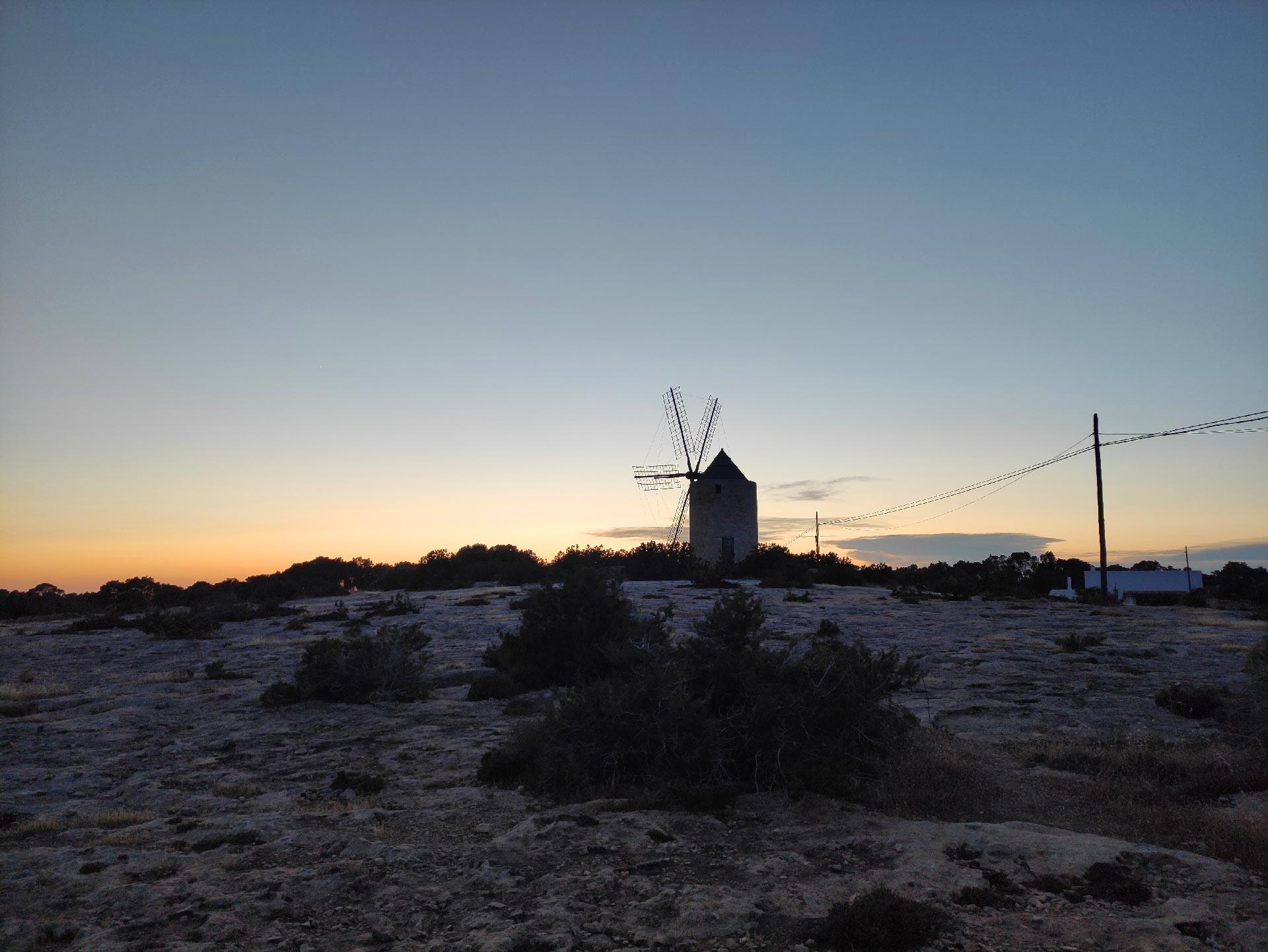 Mulino a vento a San Francesc, Formentera