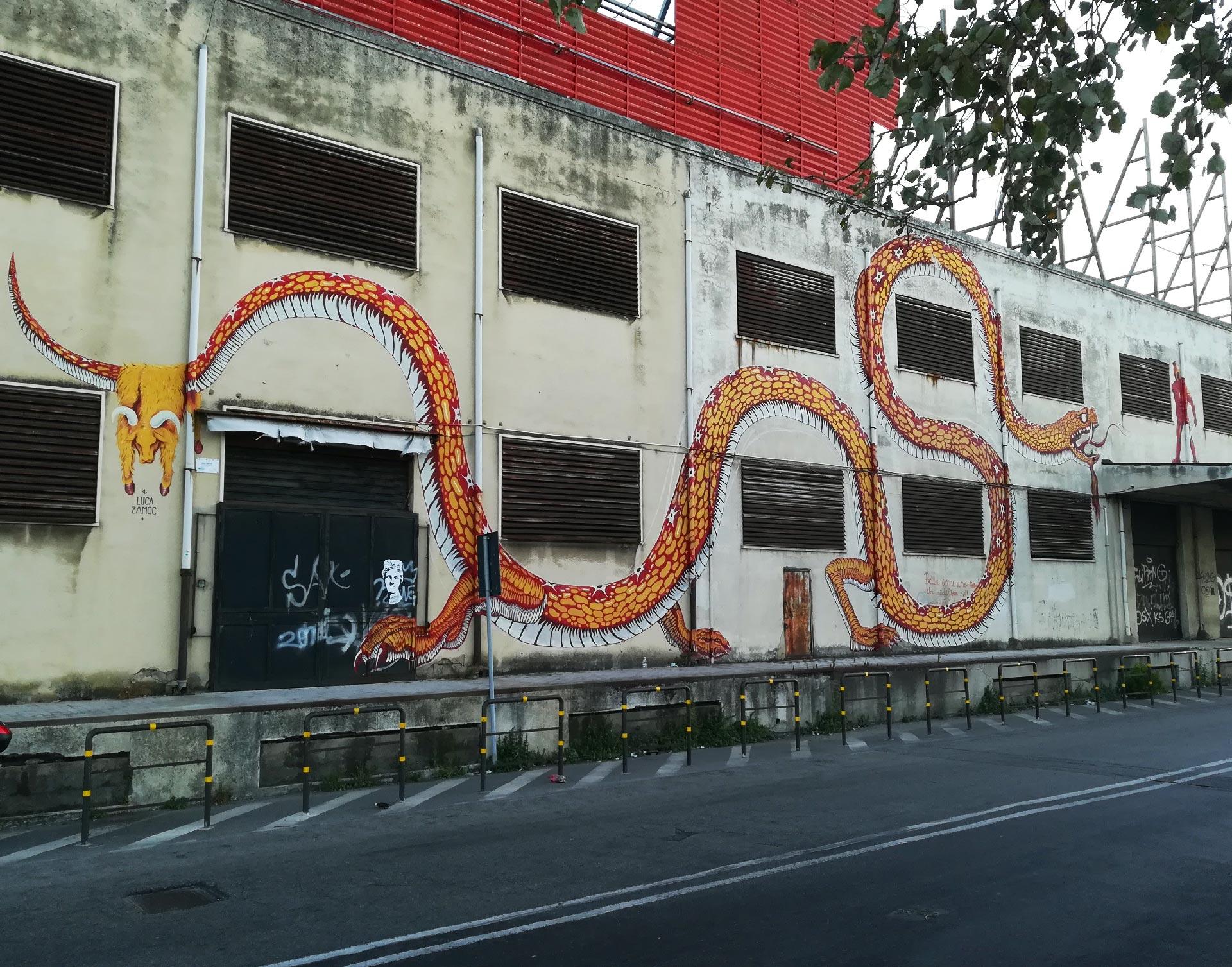 Murales a Messina
