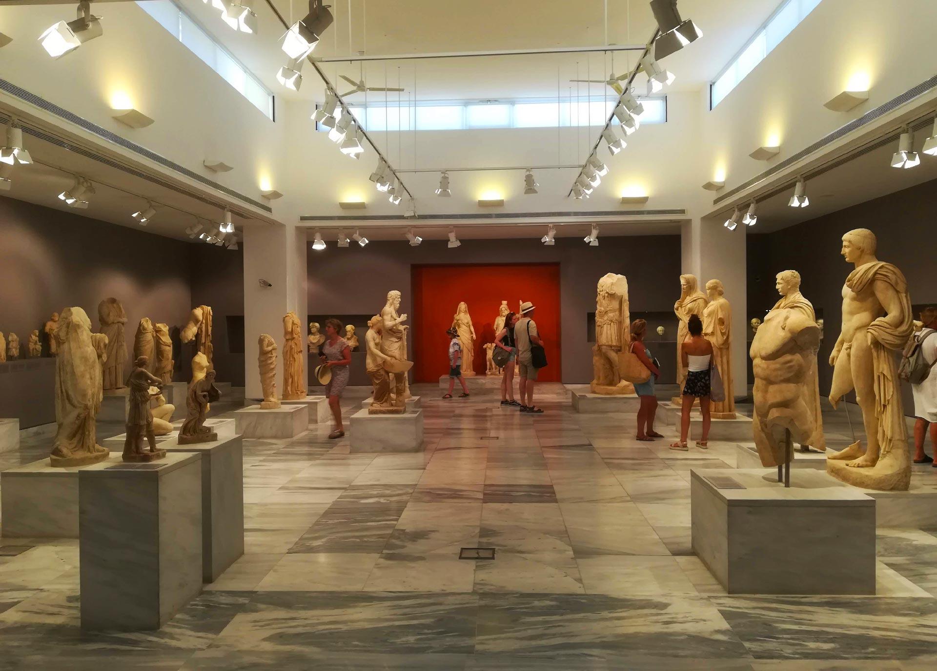 interno del Museo Archeologico di Heraklion, Creta, Grecia