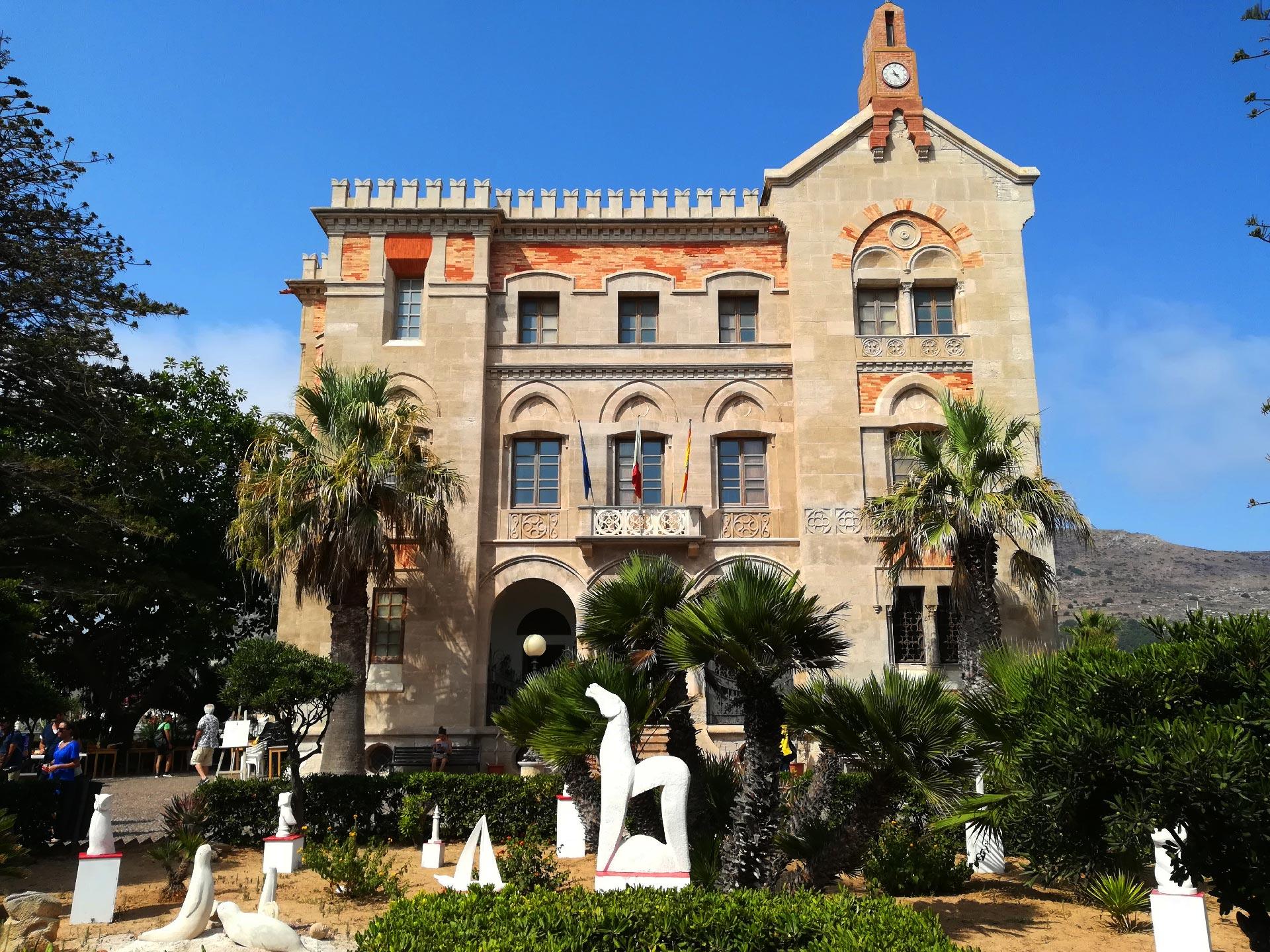 Palazzo Florio a Favignana, Trapani, Sicilia