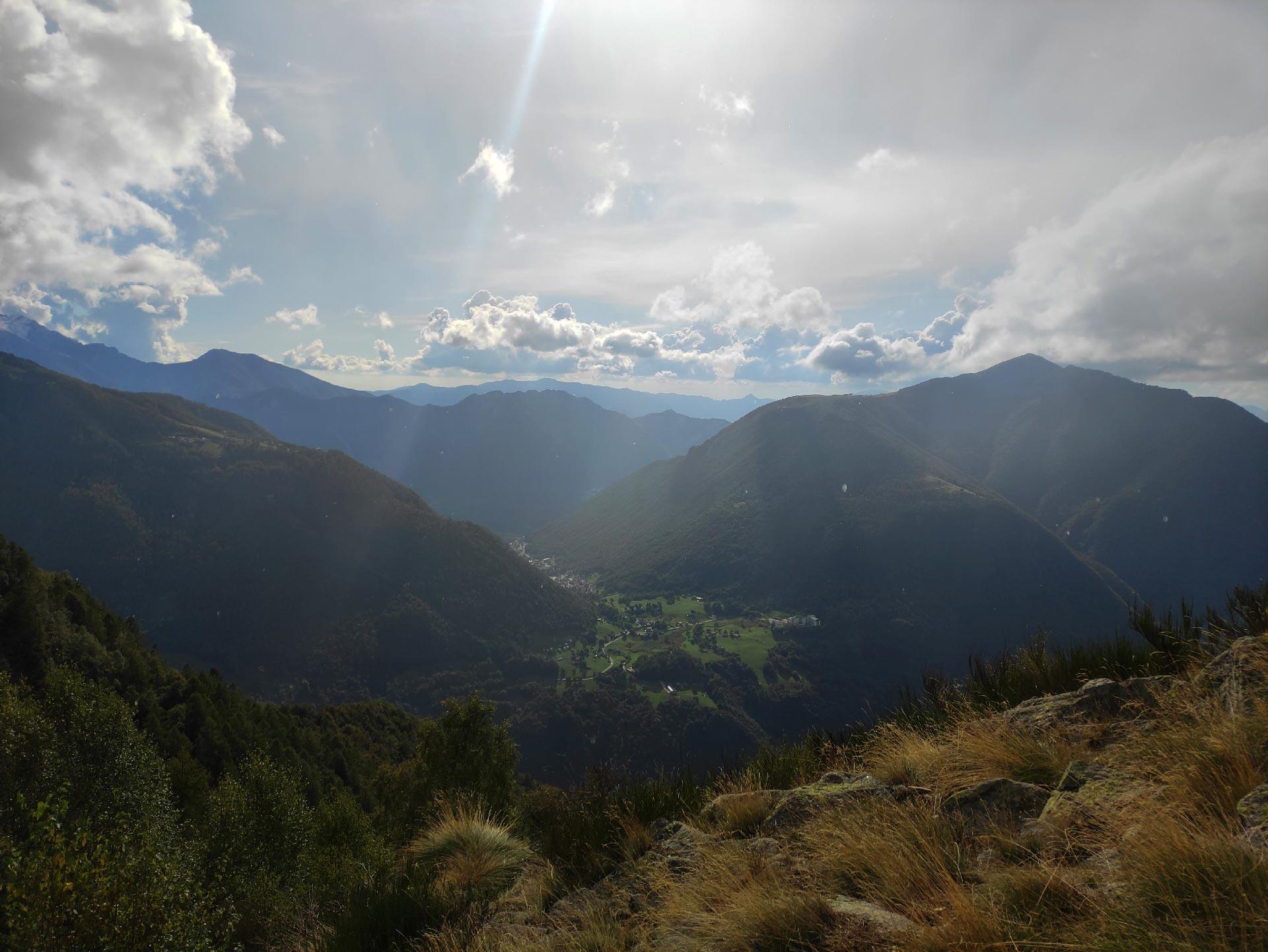 veduta delle montagne valsassinesi, Valsassina, Lombardia