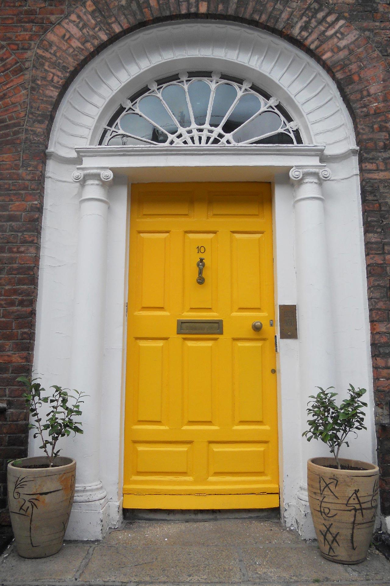 Dublino e le sue porte colorate