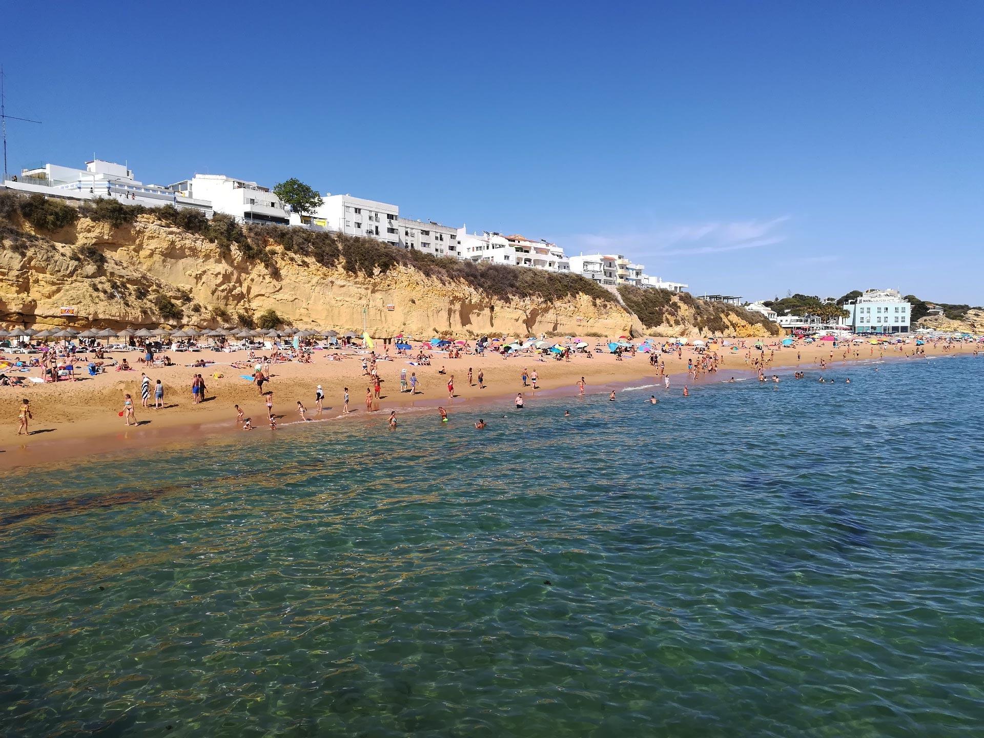 scorcio di Praia dos Pescadores (spiaggia), Albufeira, Portogallo
