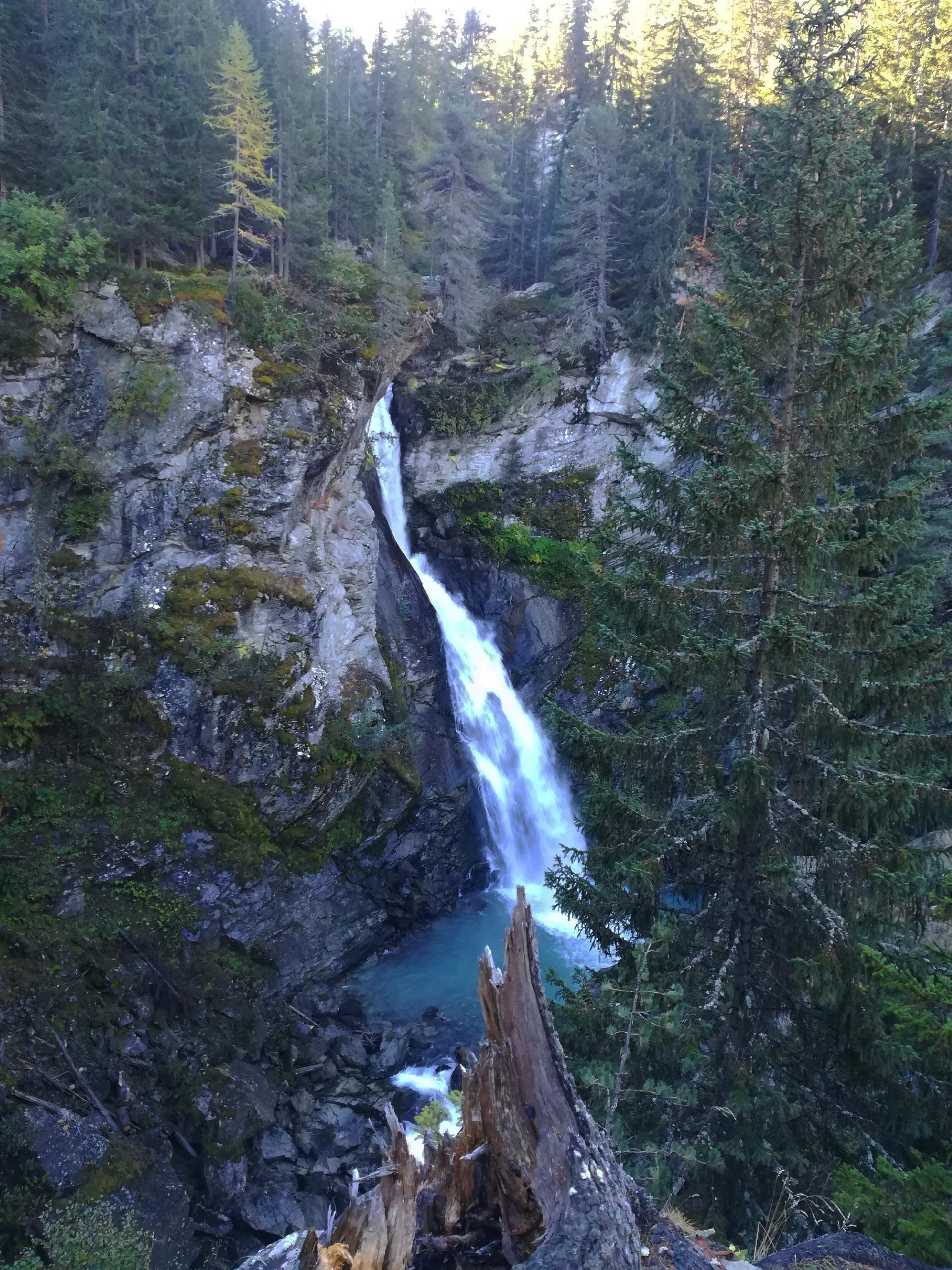 La prima cascata del Rutor