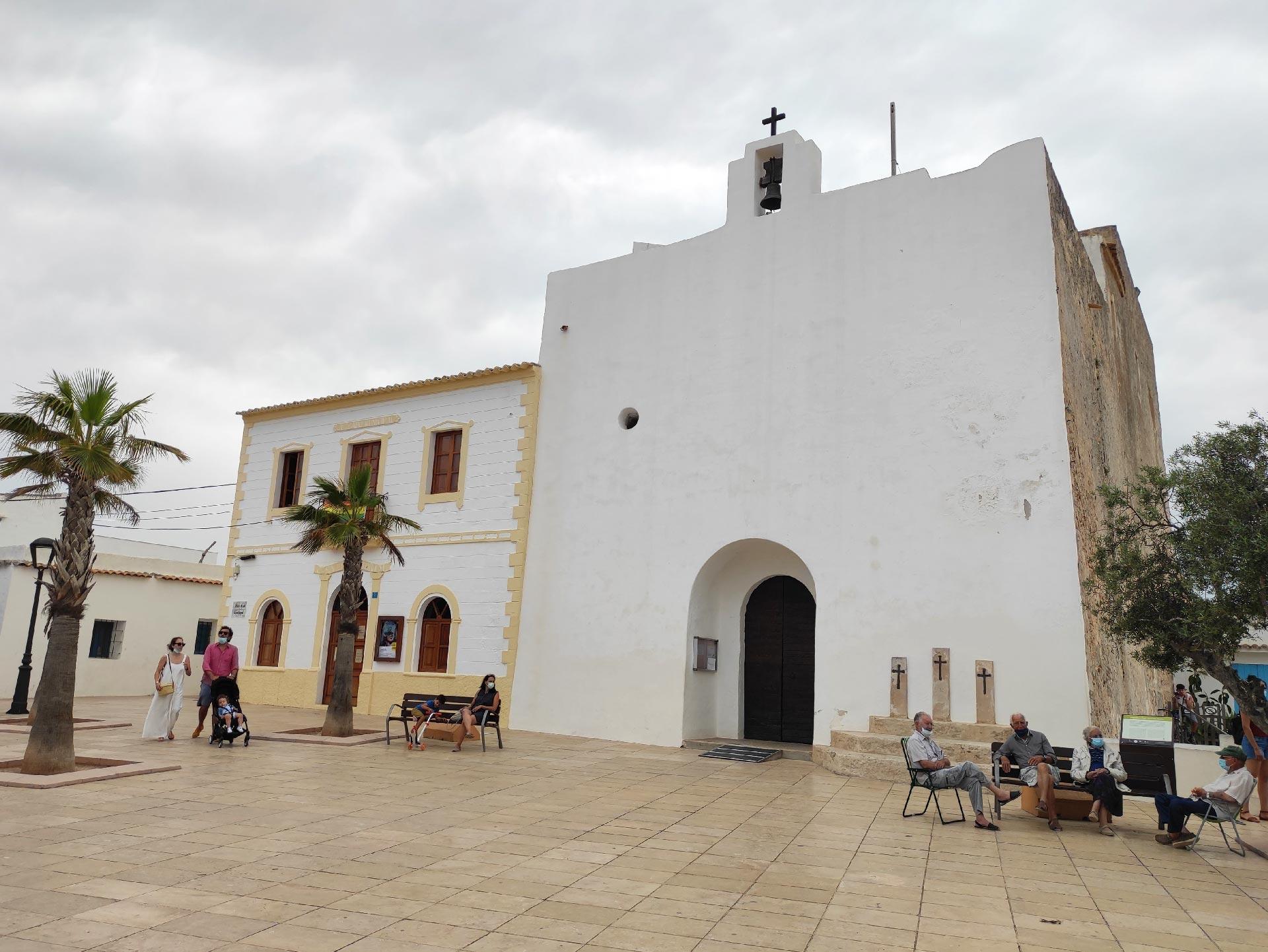 La chiesa di San Francesc Xavier
