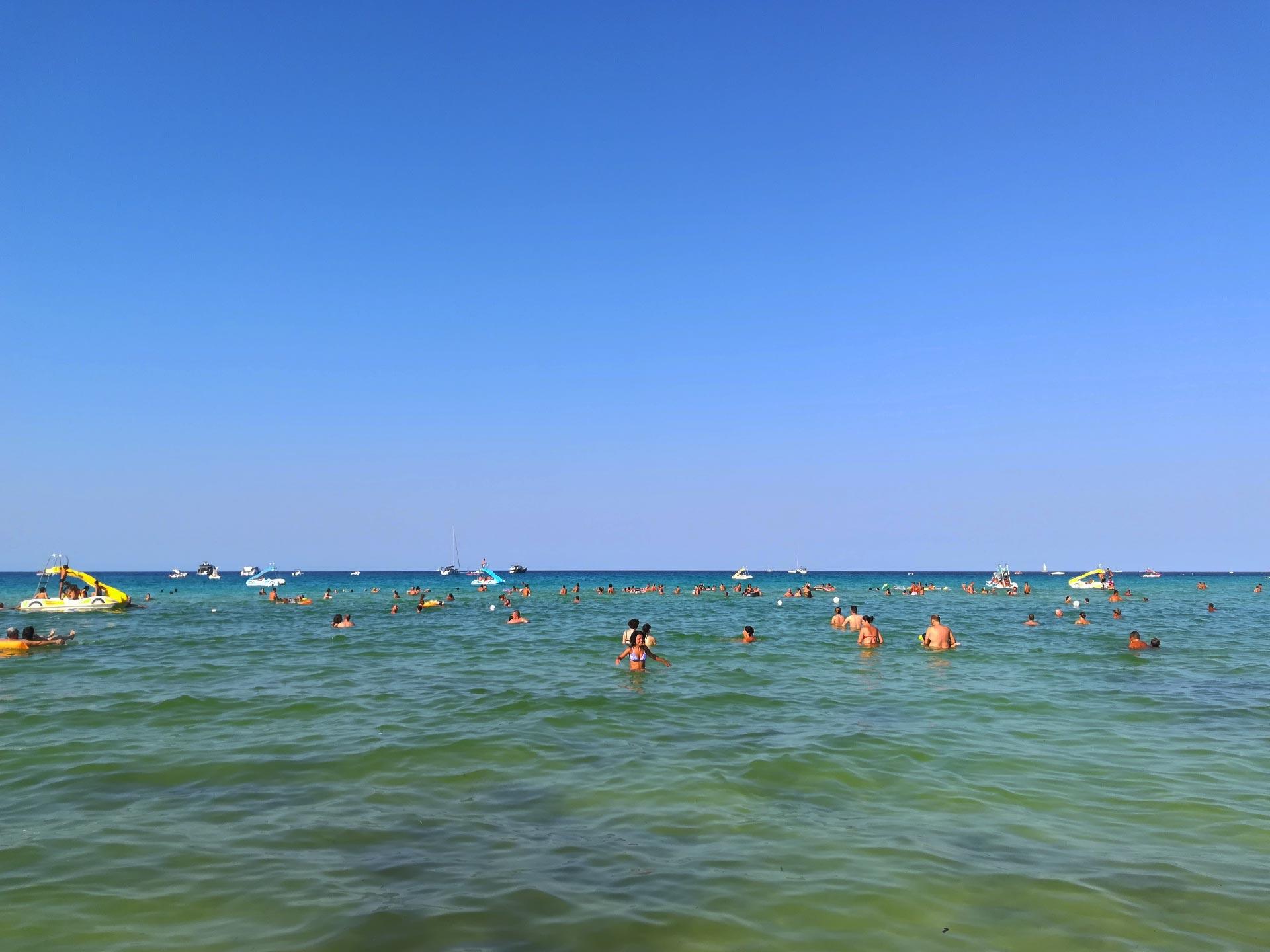 San Vito lo Capo: mare