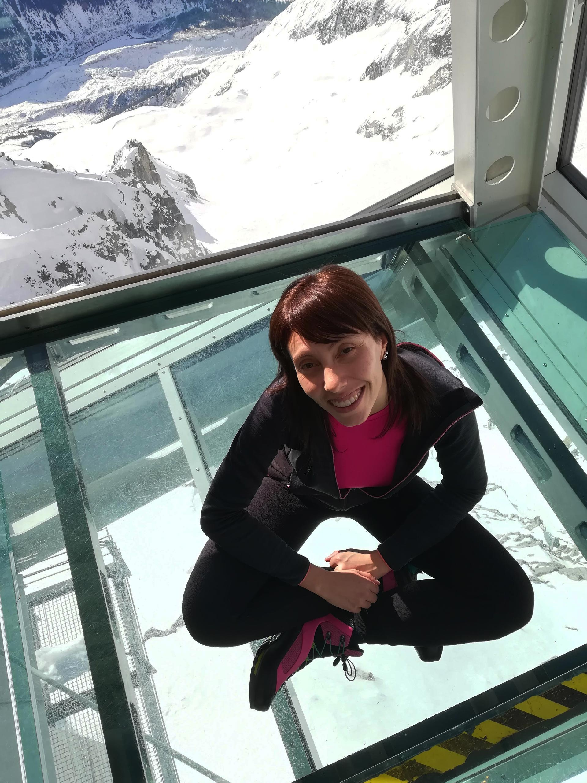 un partcolare della stazione di Punta Helbronner, Skyway Monte Bianco, Courmayeur, Valle d'Aosta