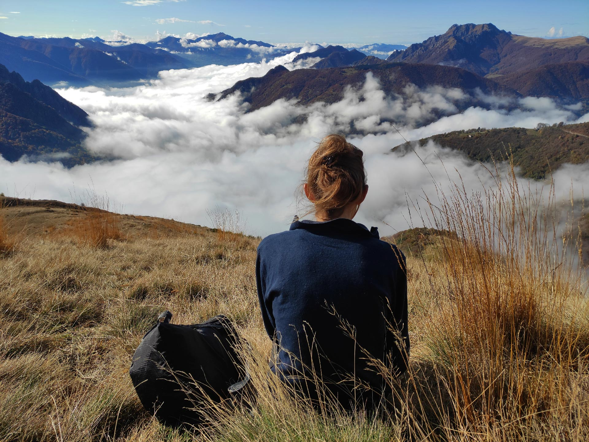 Verso il monte Tabor, Val Cavargna