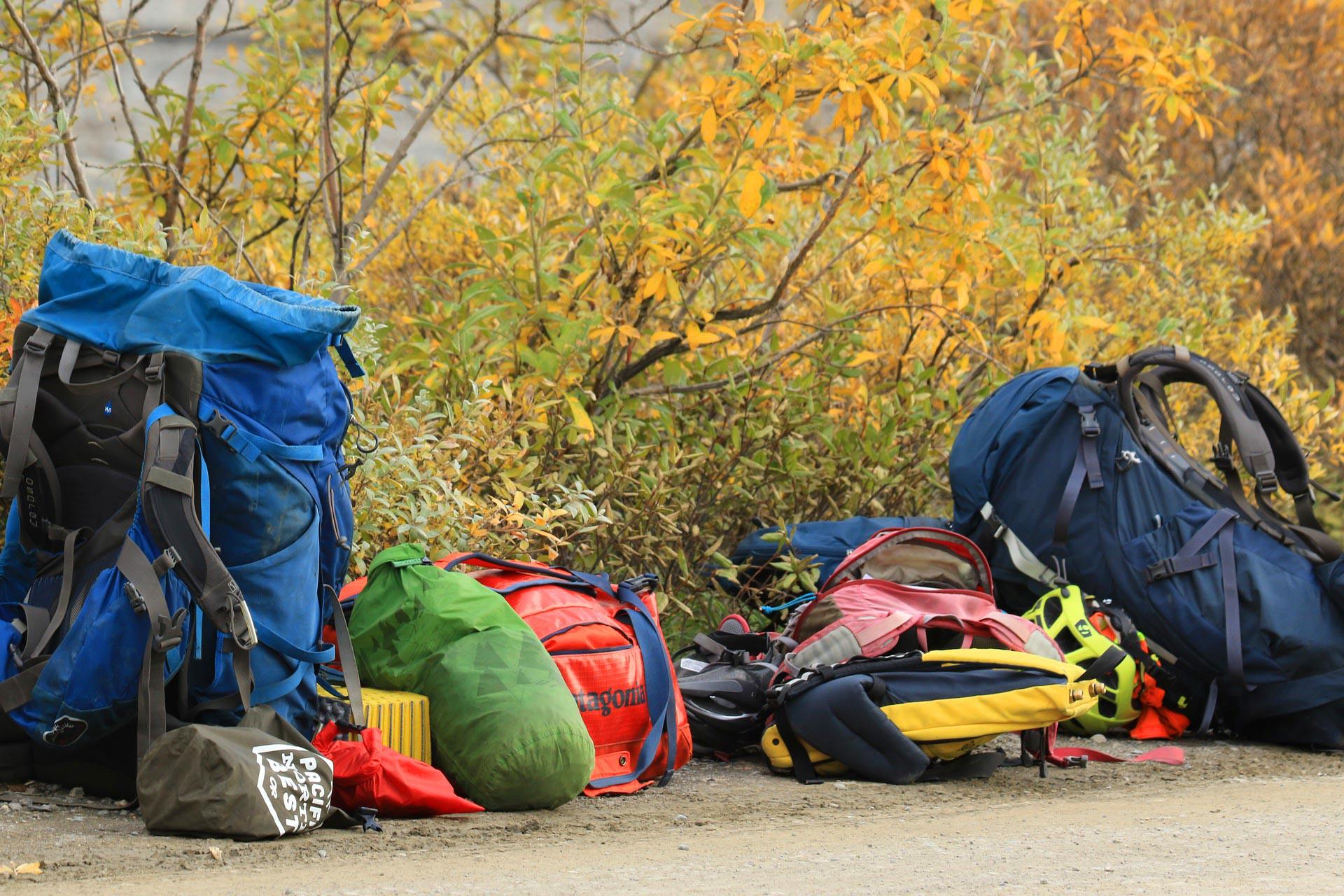 Alcuni esempi di zaini da utilizzare per il trekking
